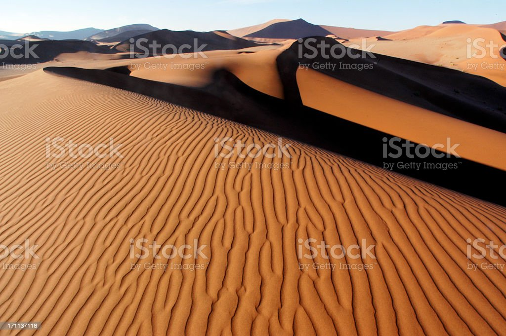 African Desert stock photo