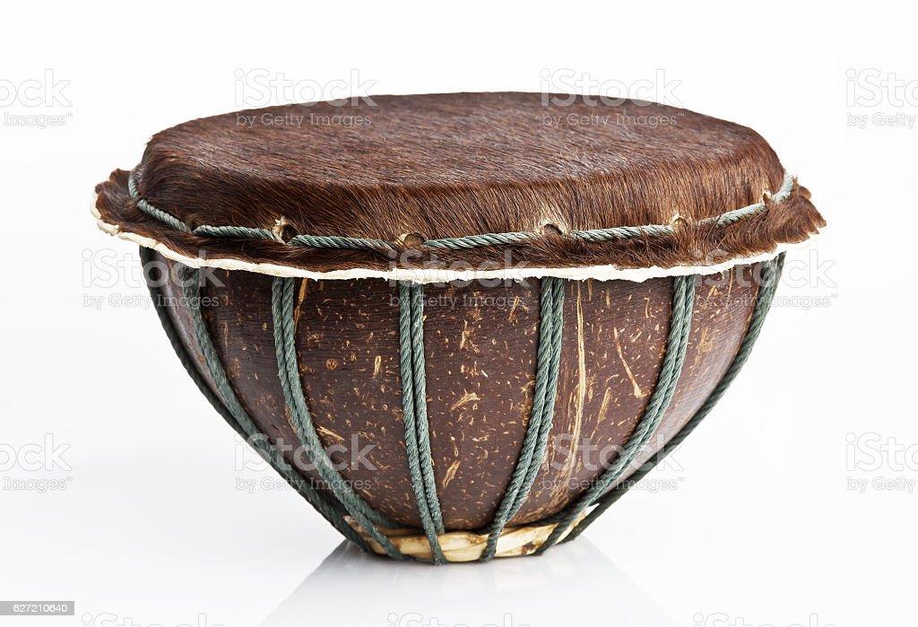 African djembe drum stock photo