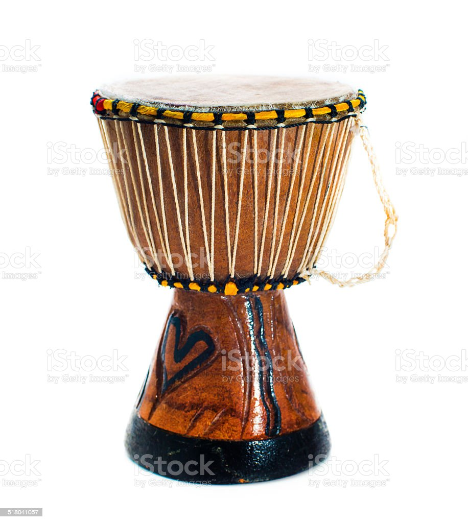 African drum stock photo