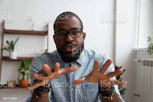 African entrepreneur recording video for online webinar picture id1091526904?b=1&k=6&m=1091526904&s=612x612&h=uzi5brewhywgaywkdvf1mji dtdyksyyhrelygu20qm=