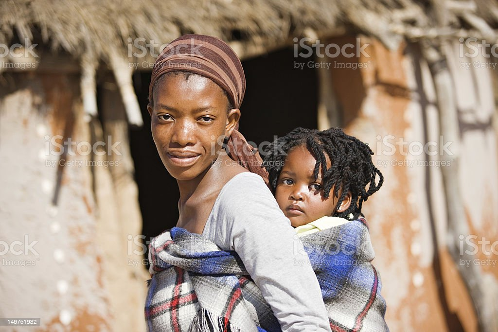 African family royalty-free stock photo
