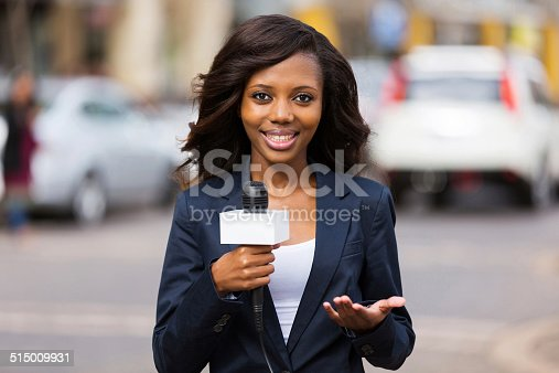 istock african female news reporter in live broadcasting 515009931