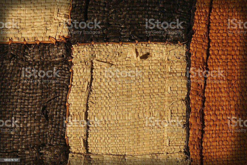 African Fibres royalty-free stock photo