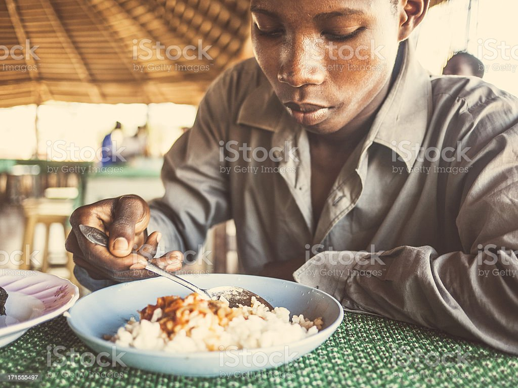 African food. stock photo