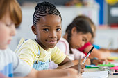 istock African girl at elementary school 950609012