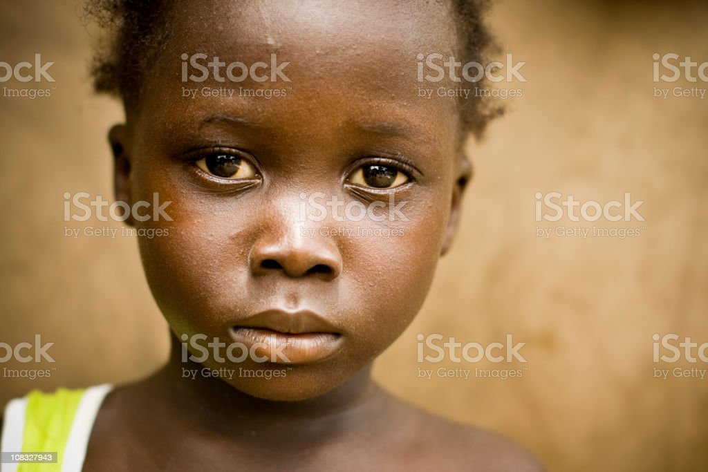 African Girl stock photo