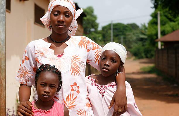 african girls stock photo