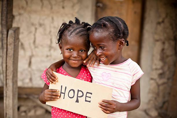 le ragazze africane - bambine africa foto e immagini stock