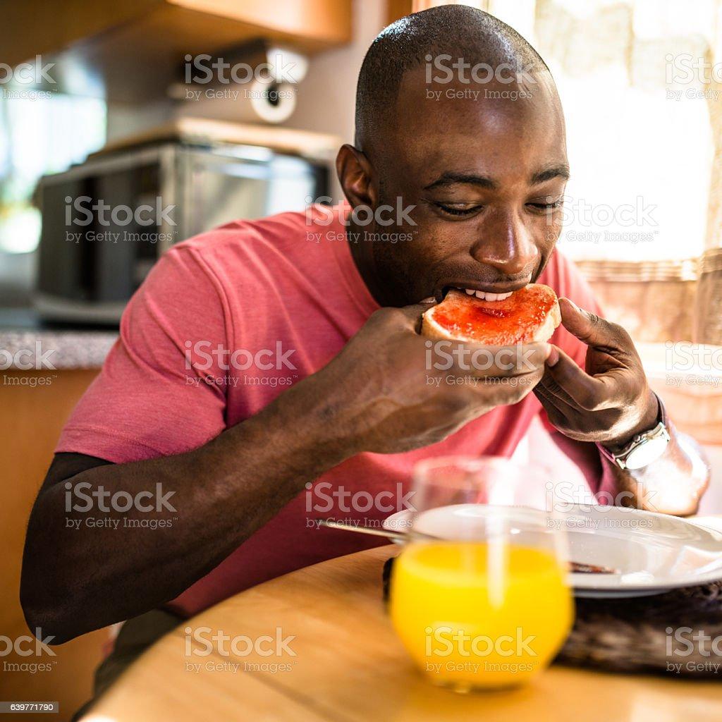 Black Guy Eating Cereal