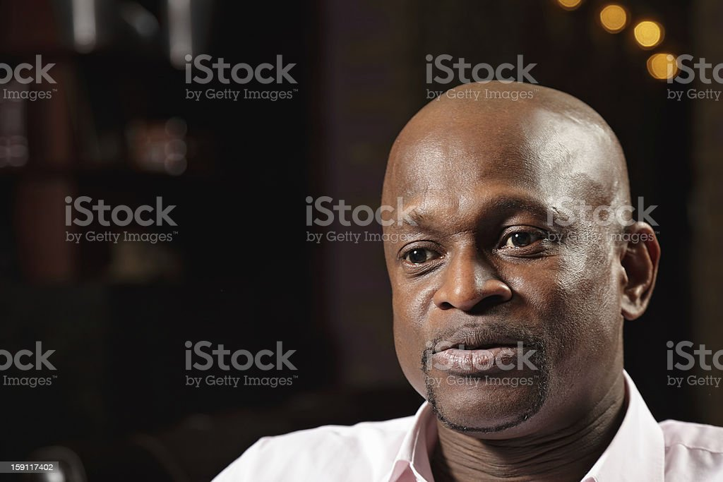 African guy royalty-free stock photo
