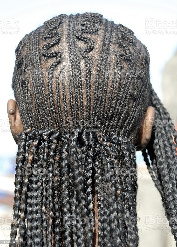 African hair royalty-free stock photo