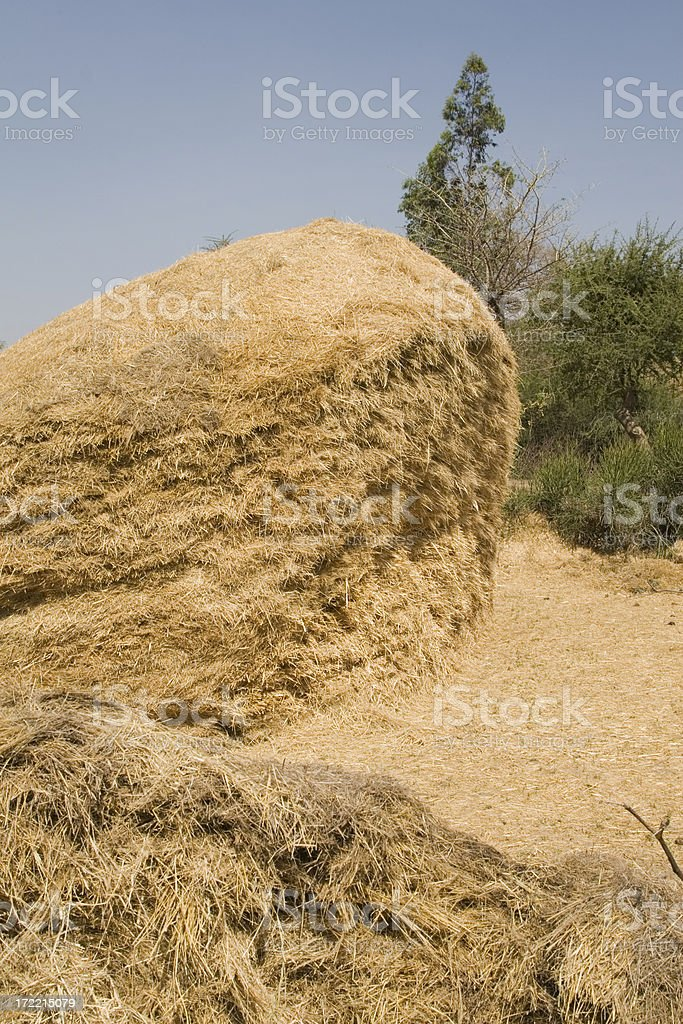 African haystack in Ethiopia royalty-free stock photo