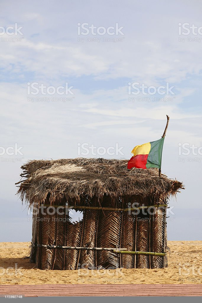african home royalty-free stock photo