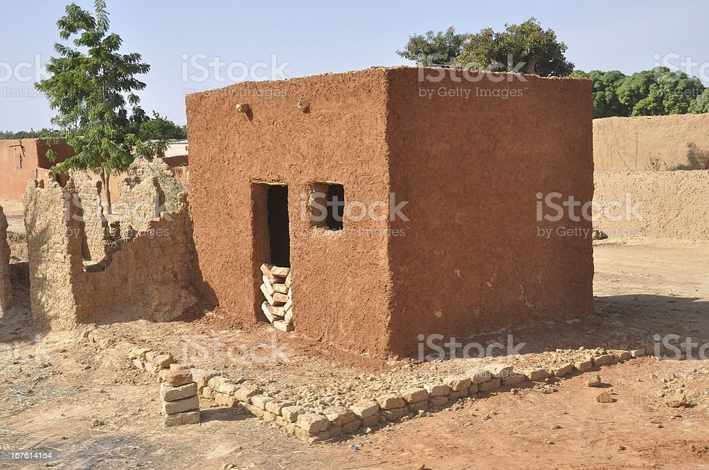 African house royalty-free stock photo