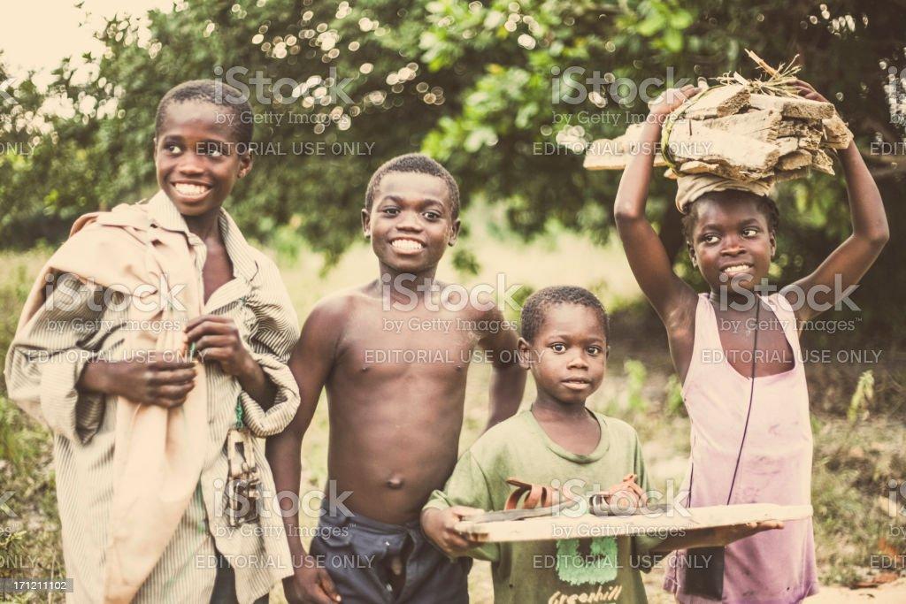Afrikanischer Kinder. – Foto