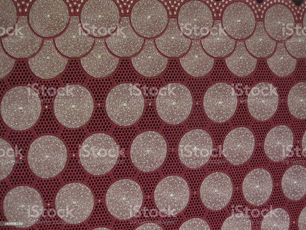 African Lace design stock photo
