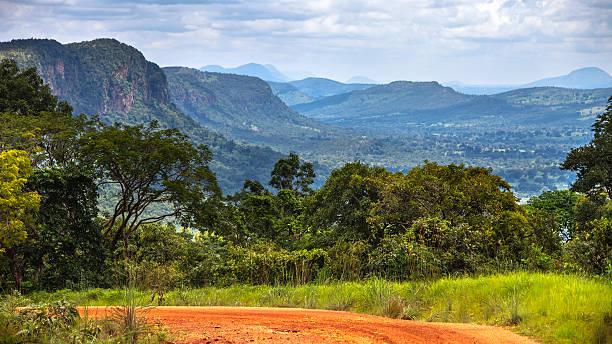 African landscape, Benin. stock photo