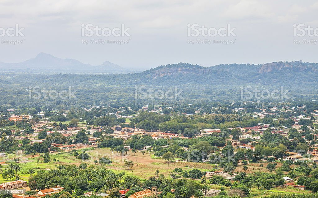 African landscape. stock photo