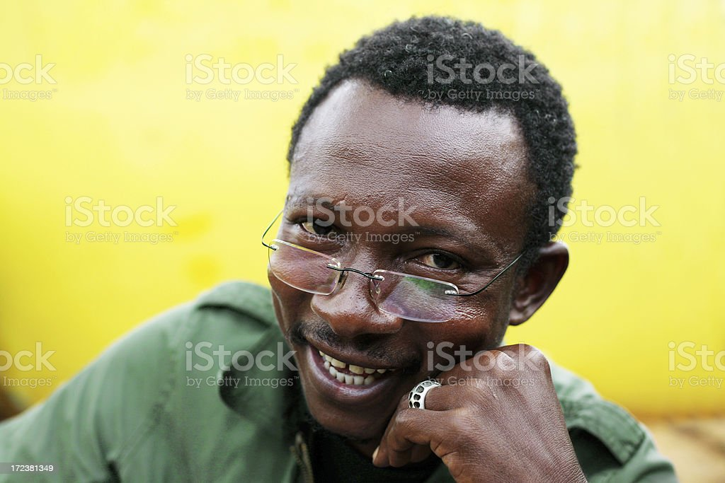 african man portrait royalty-free stock photo