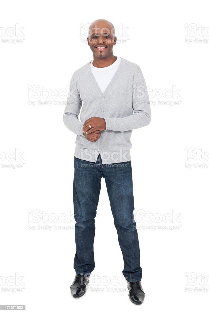 African Man Smiling royalty-free stock photo