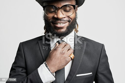 istock African Man with Dreadlocks 682775536