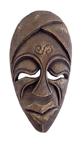afrikanischer maske - afrikanische masken stock-fotos und bilder