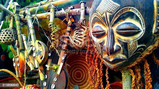 istock African Masks 515896840