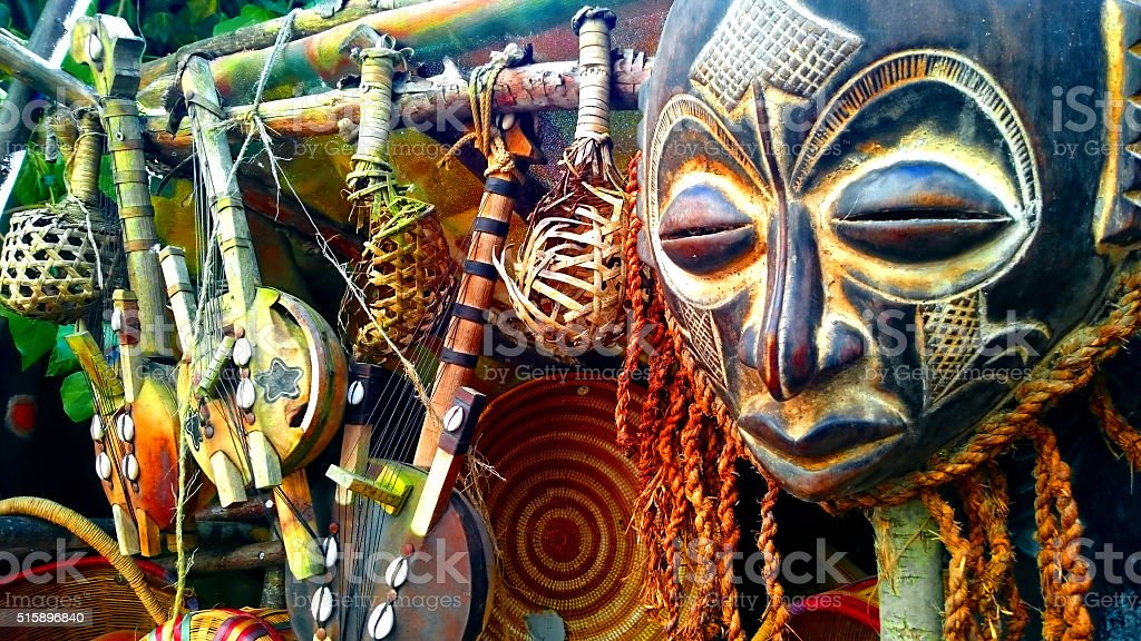 Masques d'Afrique - Photo