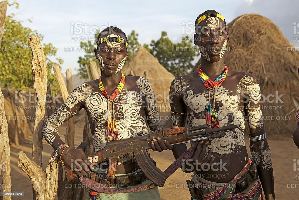 African men royalty-free stock photo
