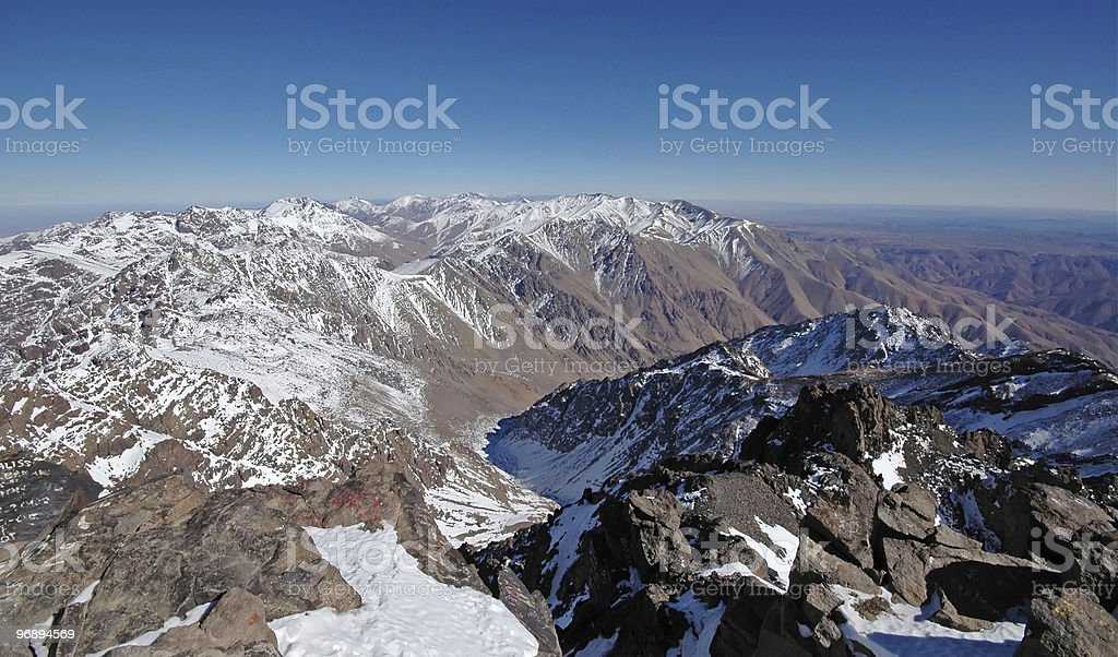 African mountains royalty-free stock photo