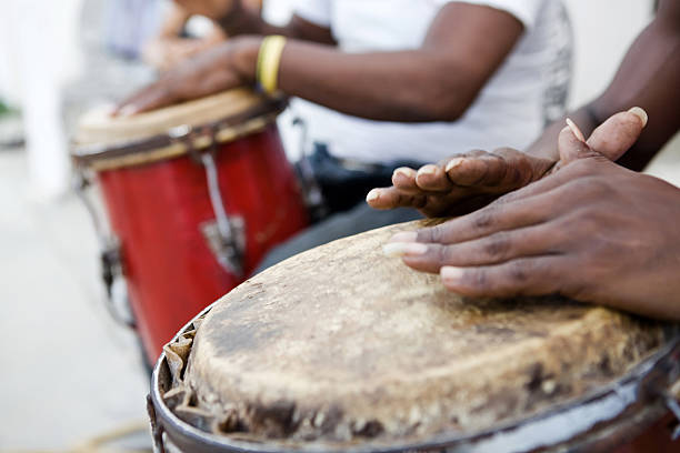 African music stock photo