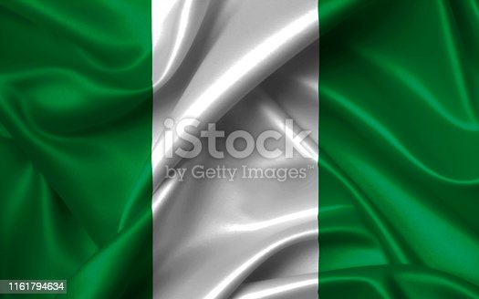istock African Nations Cup 2019, nigeria flag 1161794634