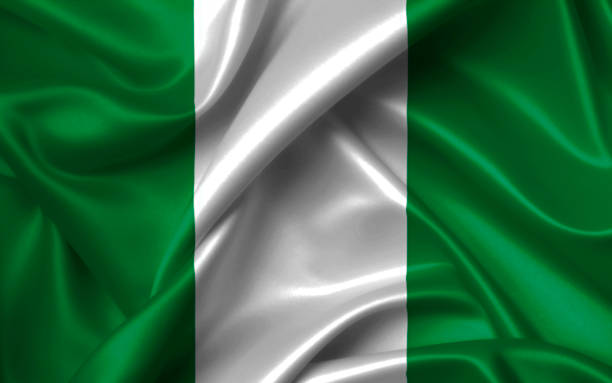 African Nations Cup 2019, Nigeria Flagge – Foto