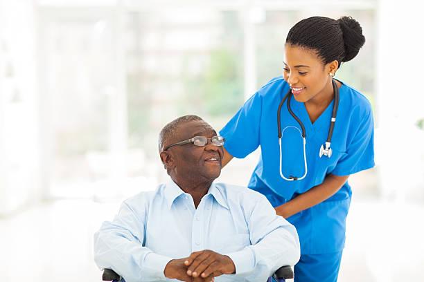 African nurse taking care of senior patient in wheelchair picture id496033775?b=1&k=6&m=496033775&s=612x612&w=0&h=hefhsx6nmp6pirtzrrka4nkfy3mm1snekfmp bbffdu=