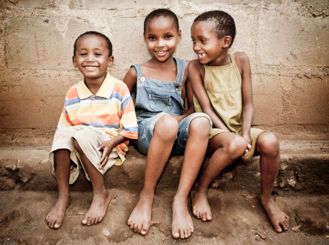 African Orphan Girls Stock Photo - Download Image Now
