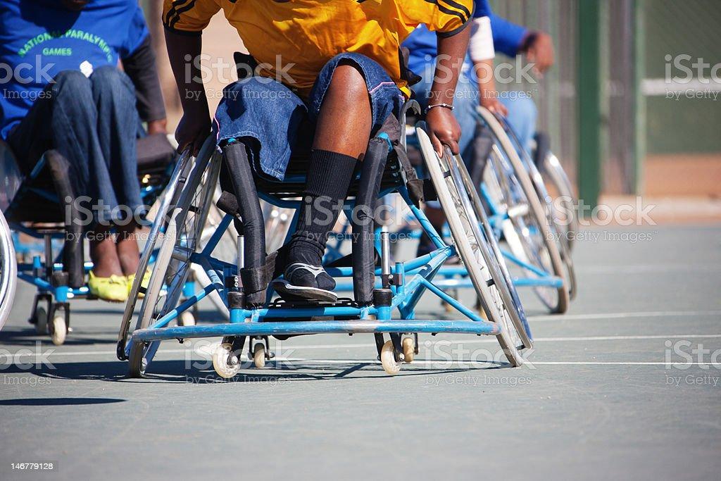 Jogos Paraolímpicos africano - foto de acervo