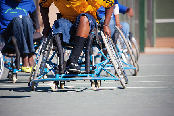 african paralympics games - wheelchair sports stock photos and pictures