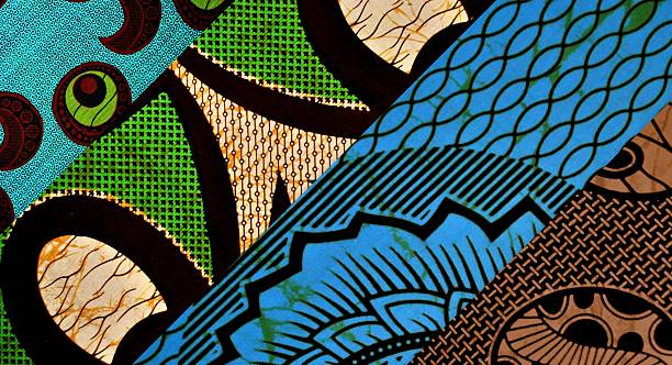african pattern - african culture stock photos and pictures