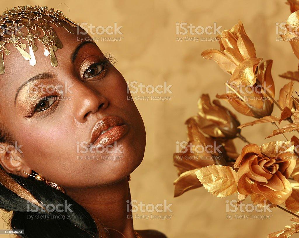 african queen stock photo