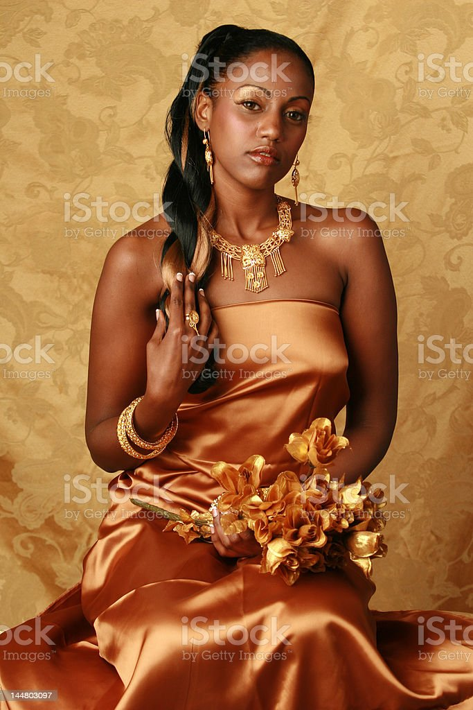 african queen royalty-free stock photo