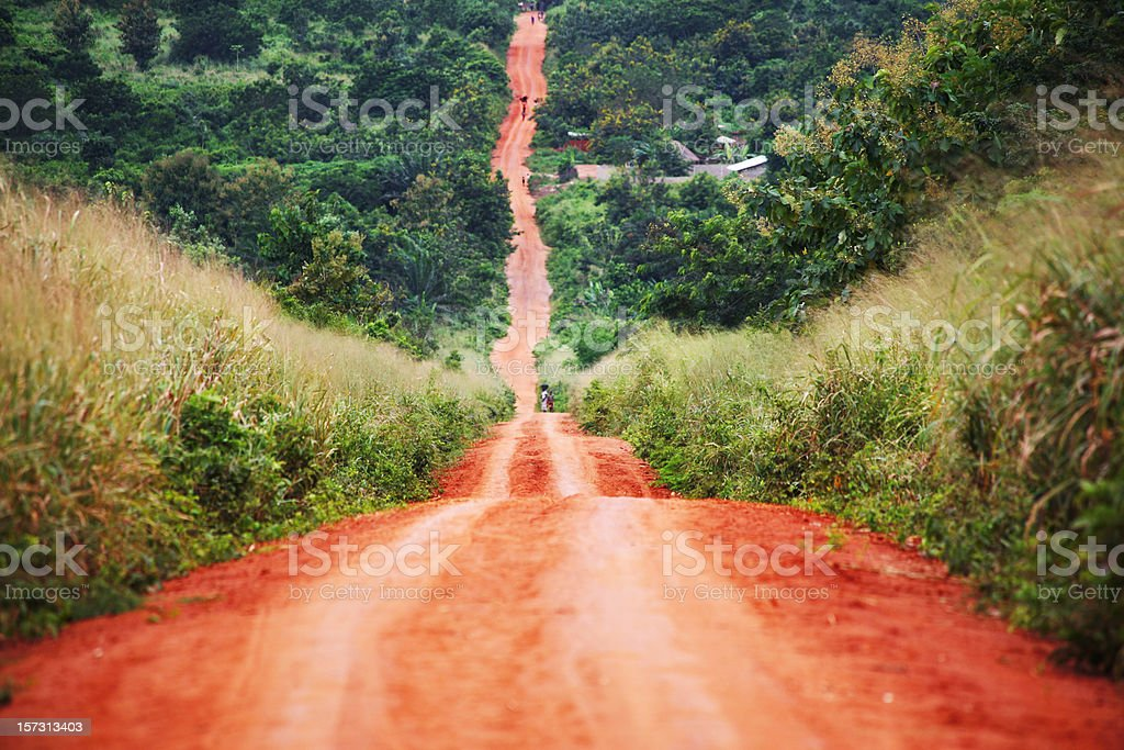 african road stock photo