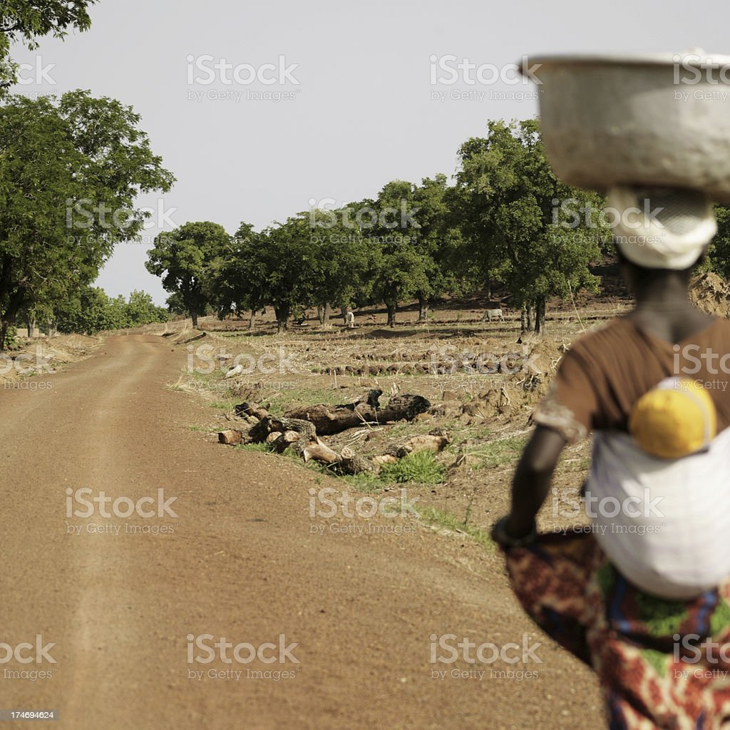 african roadside royalty-free stock photo