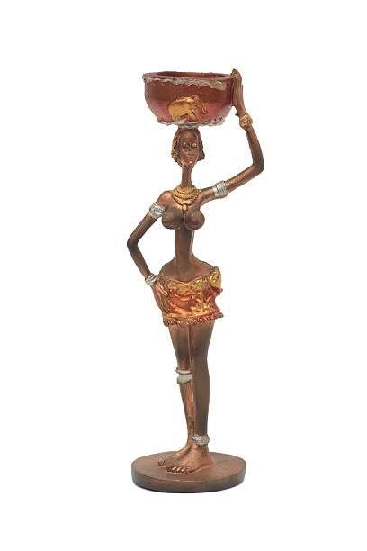 African Sculpture, Souvenir stock photo