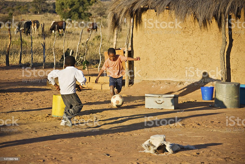 African sport royalty-free stock photo