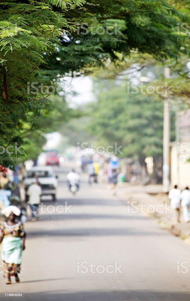 Afrikanischer street scene – Foto