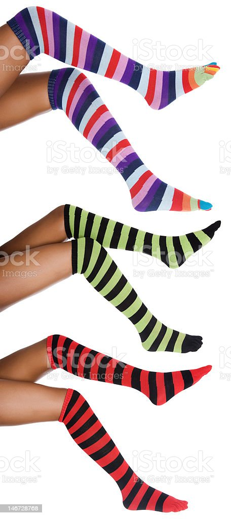 african striped legs royalty-free stock photo