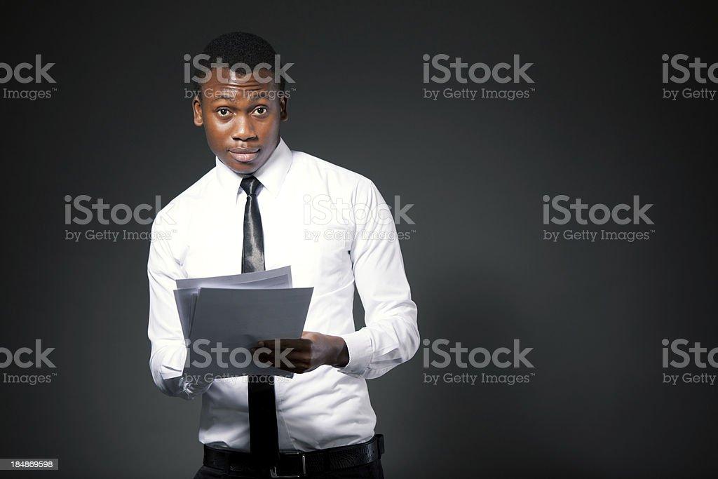 Afrikanische student – Foto
