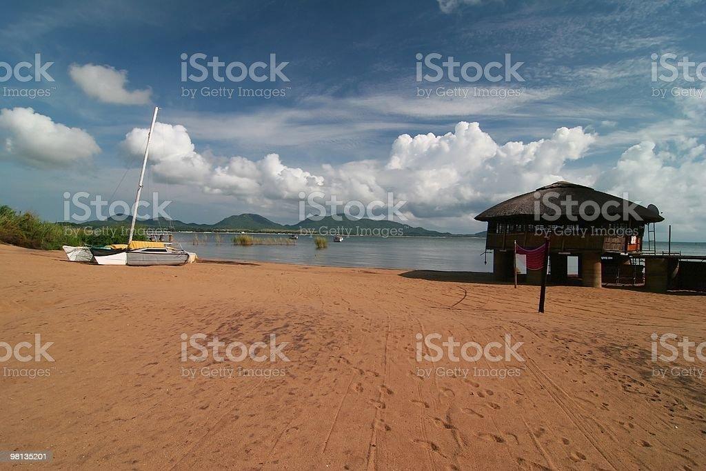 African Summer Resort royalty-free stock photo