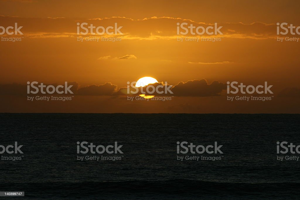 African Sunrise royalty-free stock photo