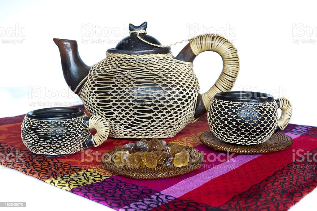 African teapot royalty-free stock photo
